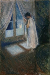 the-girl-by-the-window by Munch