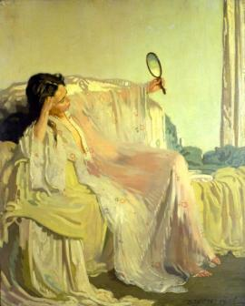 The Eastern Gown - William Orpen, 1906