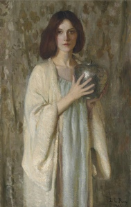 The silver vase by Lila Cabot Perry