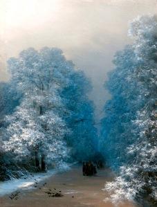 SCHACHT - Ivan Aivazovsky - Winter landscape