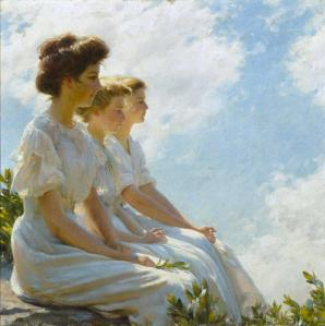 On the Heights - Charles Courtney Curran, 1909