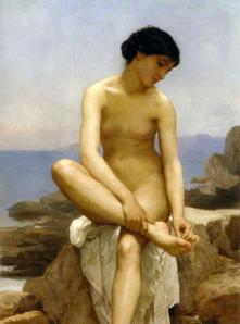 William-Adolphe Bouguereau, The Bather, 1879