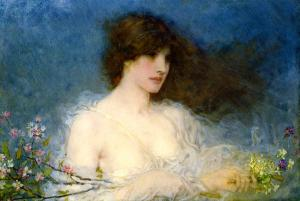 Spring George Henry Boughton, A Spring Idyll, 1901