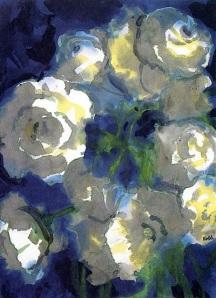 Emil Nolde Flores blancas