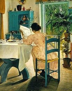 Laurits Andersen Ring (1854-1933) El desayuno (1898)