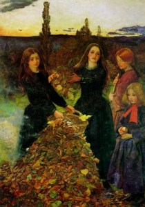 millais- autumn-leaves