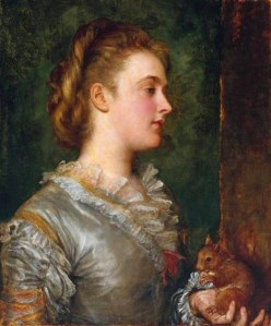 3 George Frederic Watts (English artist, 1817-1904) Dorothy Tennant Later Lady Stanley