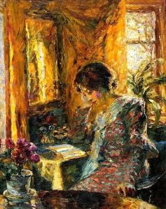 Emil Nolde Primavera en la habitación 1904.